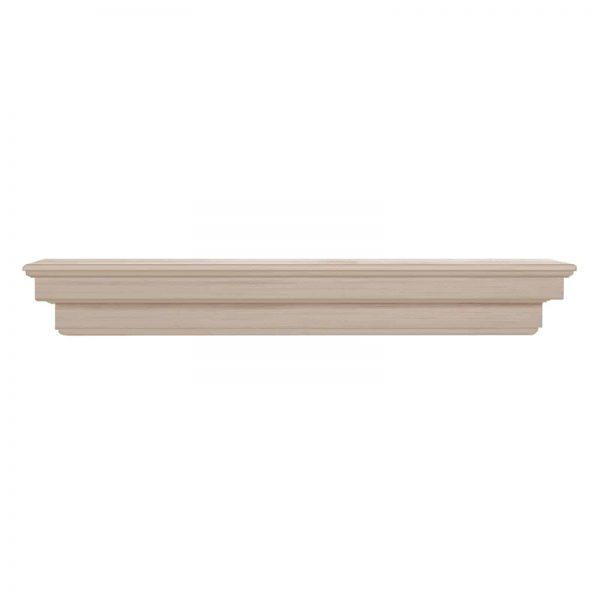 Pearl Mantels Auburn Traditional Fireplace Mantel Shelf 8