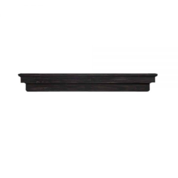 "Pearl Mantels Corp. Pearl Mantels Home Decor Furniture Celeste 72"" Mantel Shelf Espresso Finish 4"