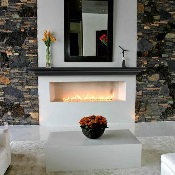 Pearl Mantels Crestwood Transitional Fireplace Mantel Shelf 1