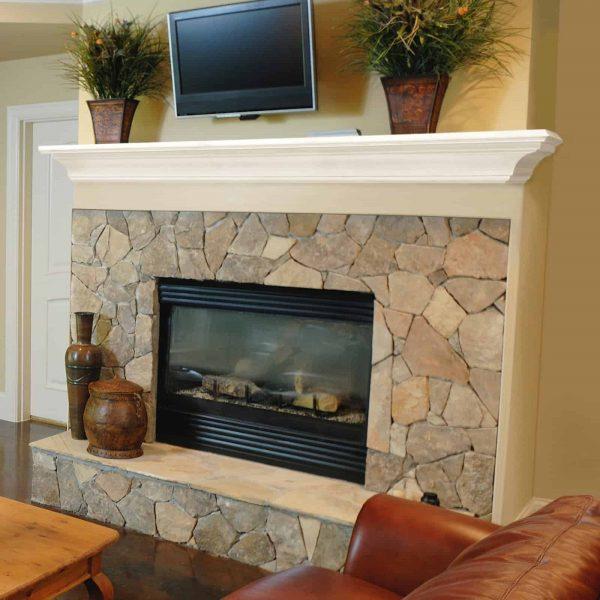 Pearl Mantels Crestwood Transitional Fireplace Mantel Shelf 10
