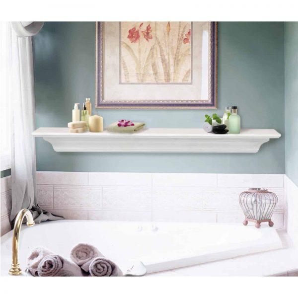 Pearl Mantels Crestwood Transitional Fireplace Mantel Shelf 3