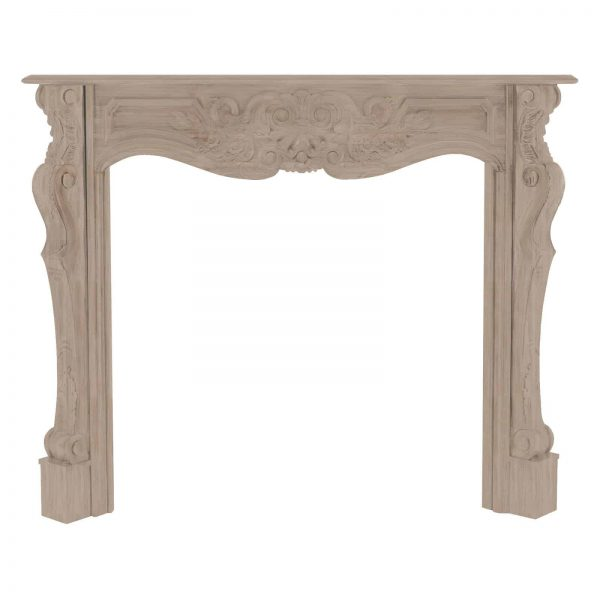 Pearl Mantels Deauville Wood Fireplace Mantel Surround 2