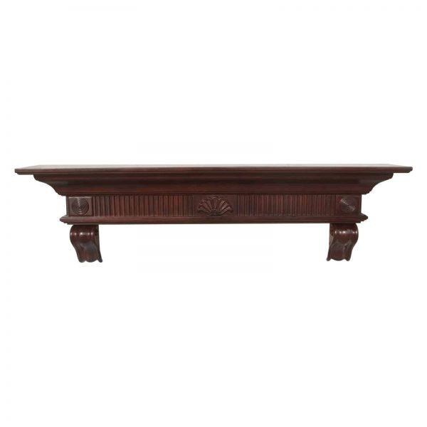 Pearl Mantels Devonshire Traditional Fireplace Mantel Shelf 6