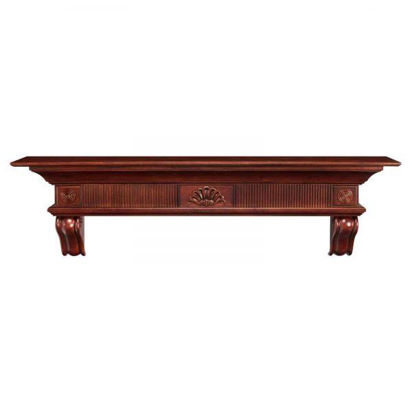 Pearl Mantels Devonshire Traditional Fireplace Mantel Shelf