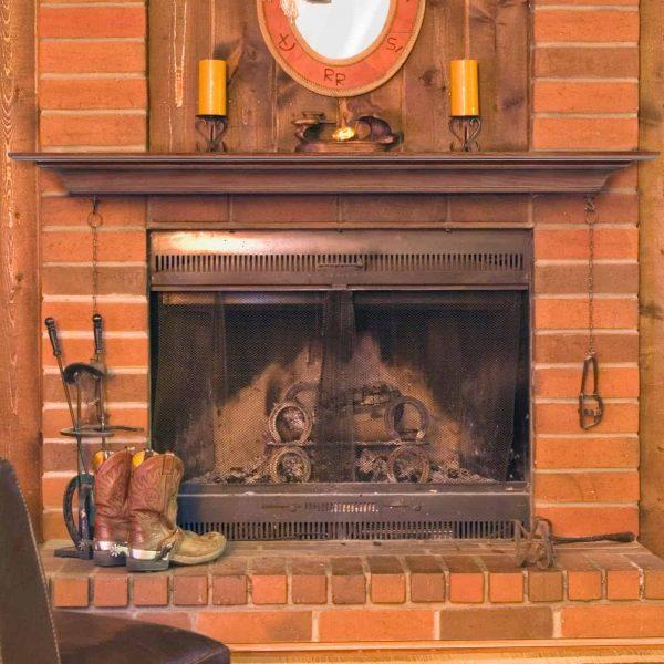Pearl Mantels Homestead Transitional Fireplace Mantel Shelf 1