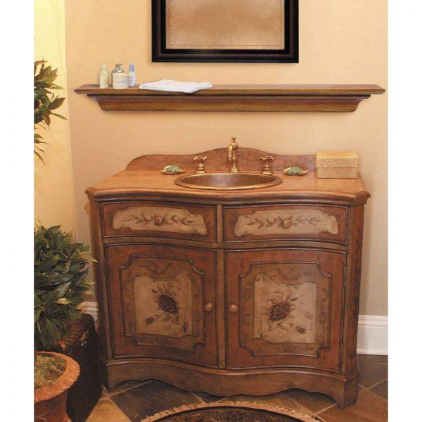 Pearl Mantels Homestead Transitional Fireplace Mantel Shelf 10