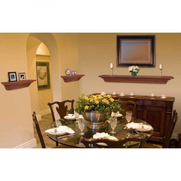 Pearl Mantels Homestead Transitional Fireplace Mantel Shelf 3