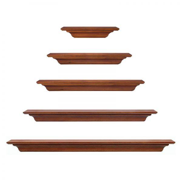 Pearl Mantels Homestead Transitional Fireplace Mantel Shelf 7