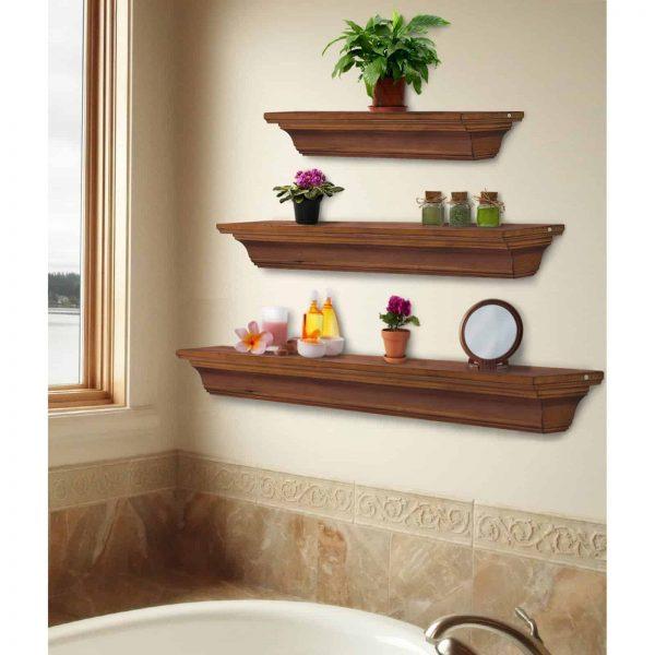 Pearl Mantels Homestead Transitional Fireplace Mantel Shelf 9