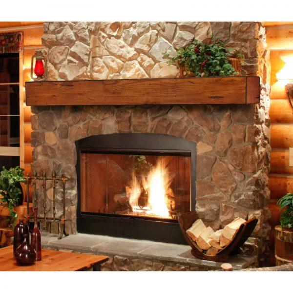 Pearl Mantels Lexington Chunky Beam Fireplace Shelf 8
