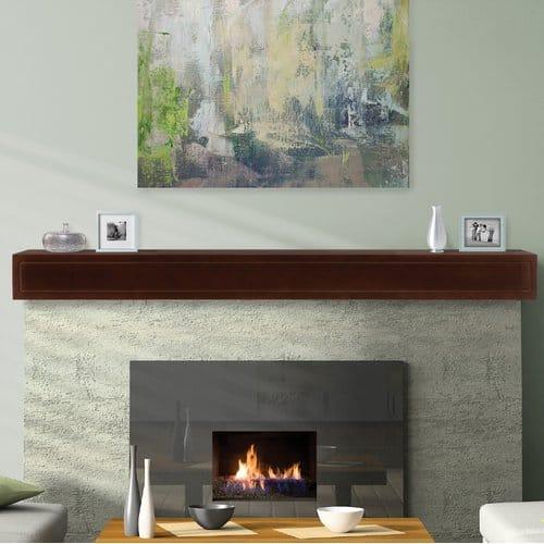 Pearl Mantels Sarah Fireplace Shelf Mantel 1