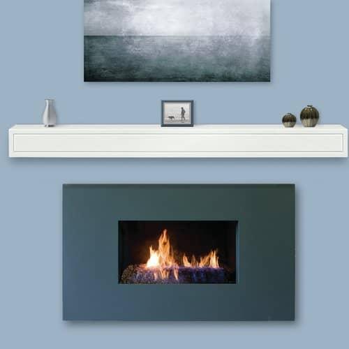 Pearl Mantels Sarah Fireplace Shelf Mantel 2