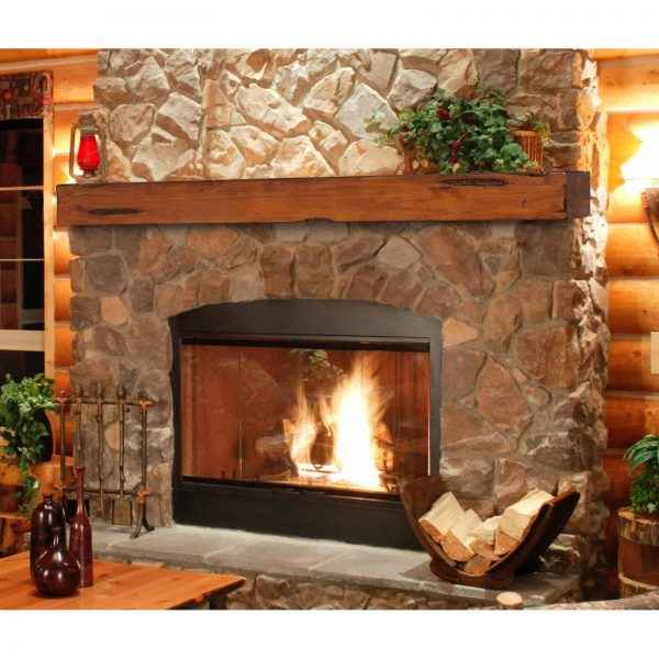 Pearl Mantels Shenandoah Traditional Fireplace Mantel Shelf 1