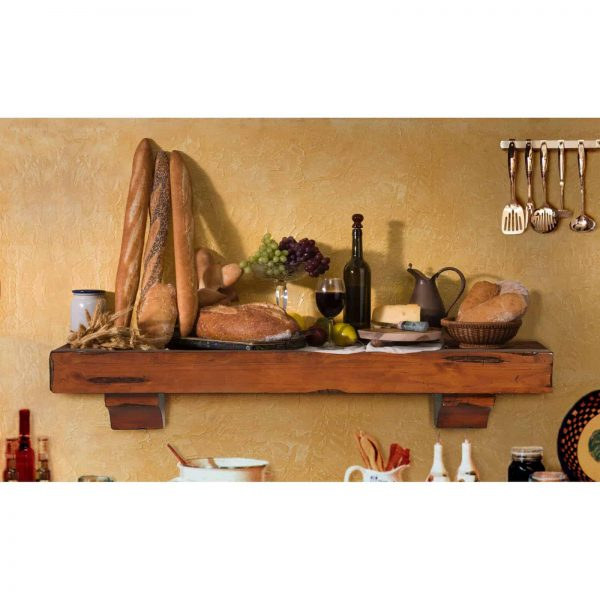 Pearl Mantels Shenandoah Traditional Fireplace Mantel Shelf 7