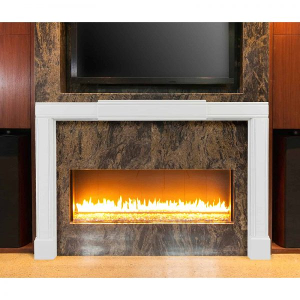 Pearls Mantels Emory Adjustable Fireplace Mantel Surround 5