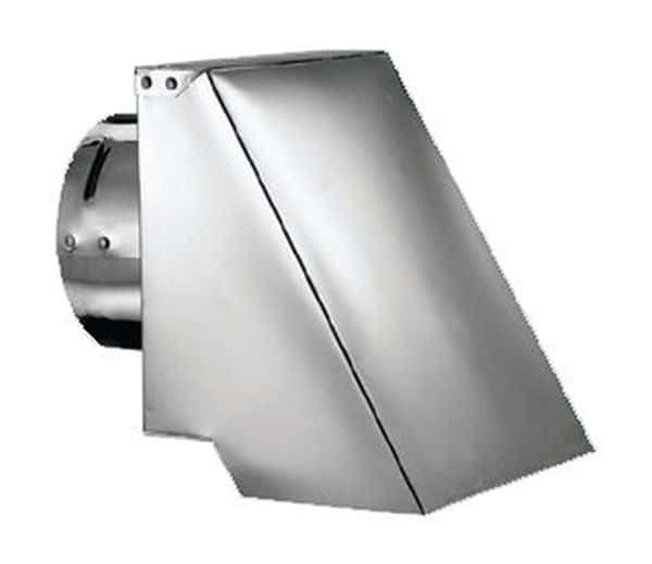 "PelletVent Pro 4"" Type-L Square Horizontal Cap"