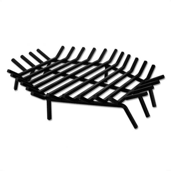 "Pemberly Row 30"" Hex Shape Bar Grate for Outdoor Fireplaces"