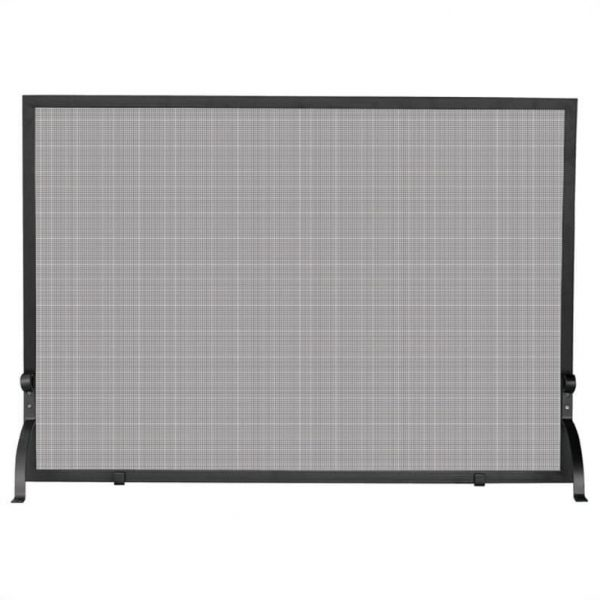 Pemberly Row Large Single Panel Iron Screen