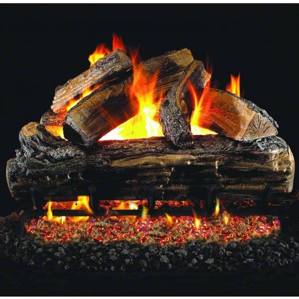 Peterson Gas Logs 30-inch Split Oak Logs Only No Burner