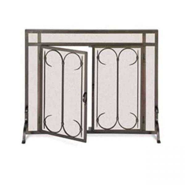 Pilgrim 18426 Iron Gate Screen with Doors