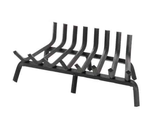 """Pilgrim 18623 Fireplace Grate - 3"""" Clearance with Center Leg"""