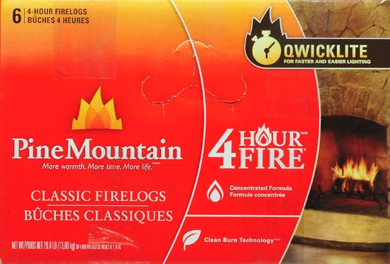 Pine Mountain 4-Hour Log, 6ct 1