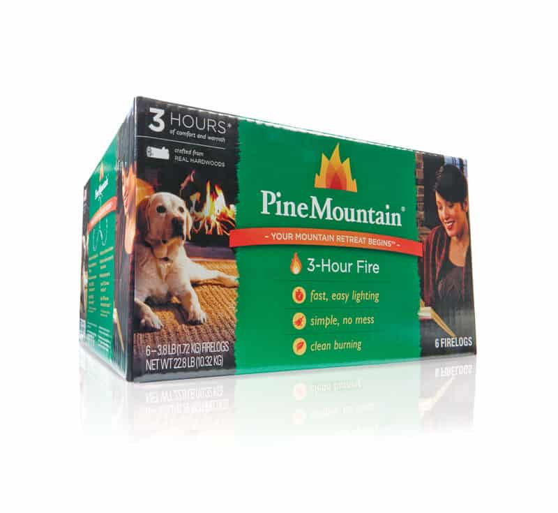Pine Mountain 6-Pack 2 count 3-Hour Firelogs Easy Lighting