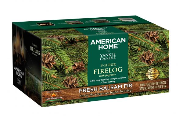 Pine Mountain American Home by Yankee Candle Fragrance Firelog (Set of 4)