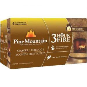 Pine Mountain Cracklelog Crackling Firelog