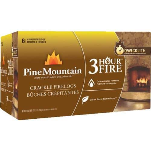 Pine Mountain Cracklelog Crackling Firelog