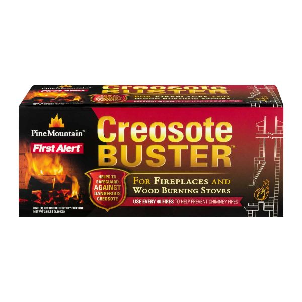 Pine Mountain Creosote Buster Firelog Single Pack 3