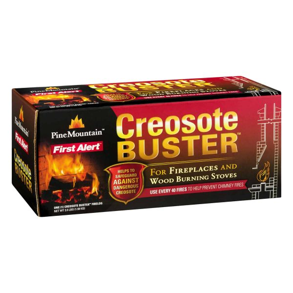 Pine Mountain Creosote Buster Firelog Single Pack 4
