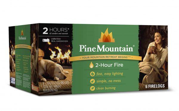 Pine Mountain Firelog with 2-Hour Burn Time (Set of 6) 1