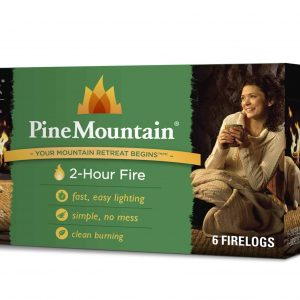 Pine Mountain Firelog with 2-Hour Burn Time (Set of 6)