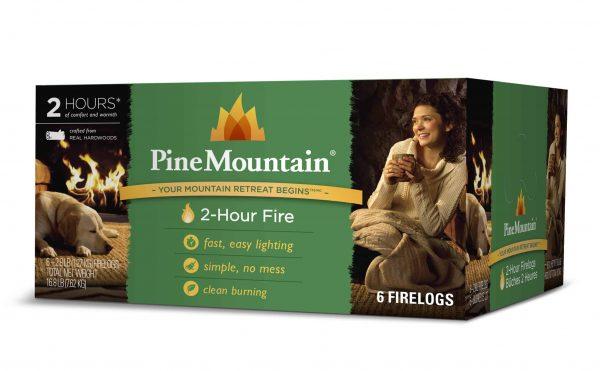 Pine Mountain Firelog with 2-Hour Burn Time (Set of 6)