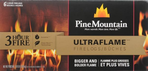 Pine Mountain Ultraflame 6x3 HR Firelog 1