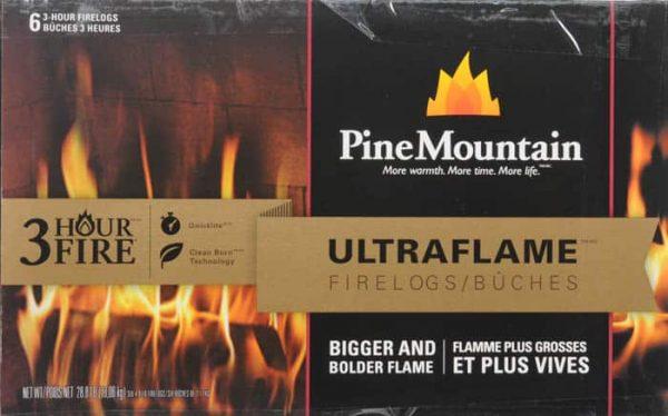 Pine Mountain Ultraflame 6x3 HR Firelog 2