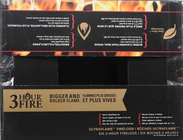 Pine Mountain Ultraflame 6x3 HR Firelog 3
