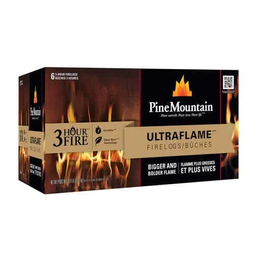 Pine Mountain Ultraflame 6x3 HR Firelog