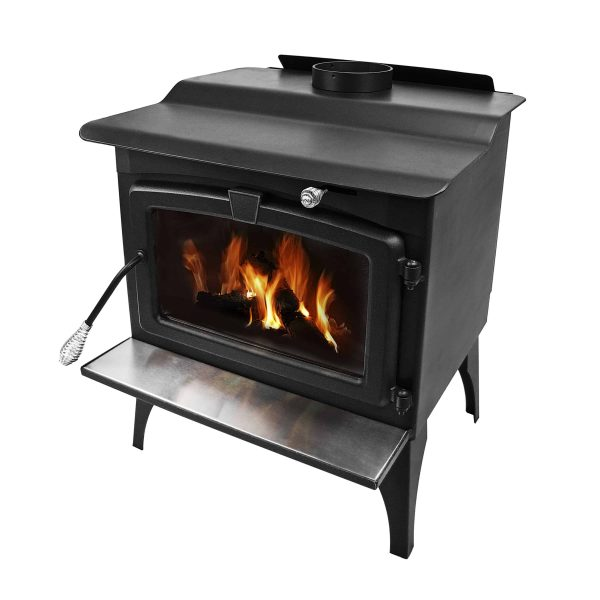 Pleasant Hearth 1,800 Sq. Ft. Medium Wood Burning Stove 1