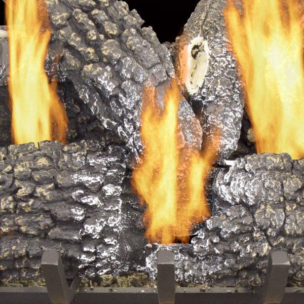 "Pleasant Hearth 18"" Arlington Ash Vented Gas Log Set 45,000 BTU's 1"