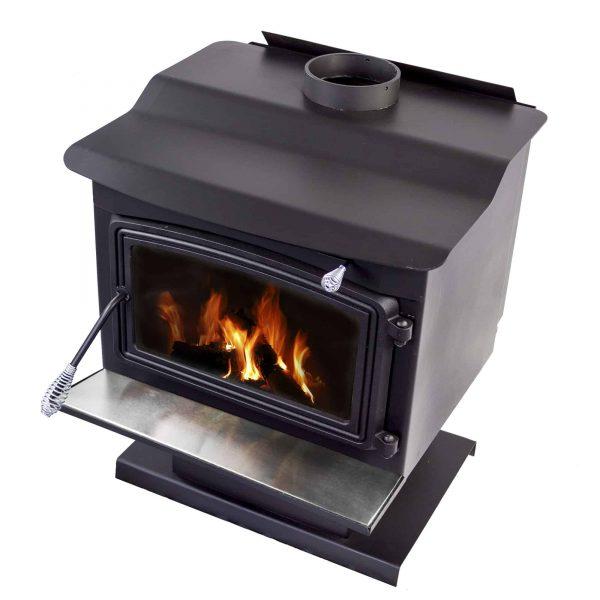 200 Sq. Ft. Large Wood Burning Stove