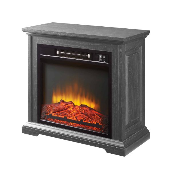 "Pleasant Hearth 25"" Sullivan Infrared Electric Fireplace"