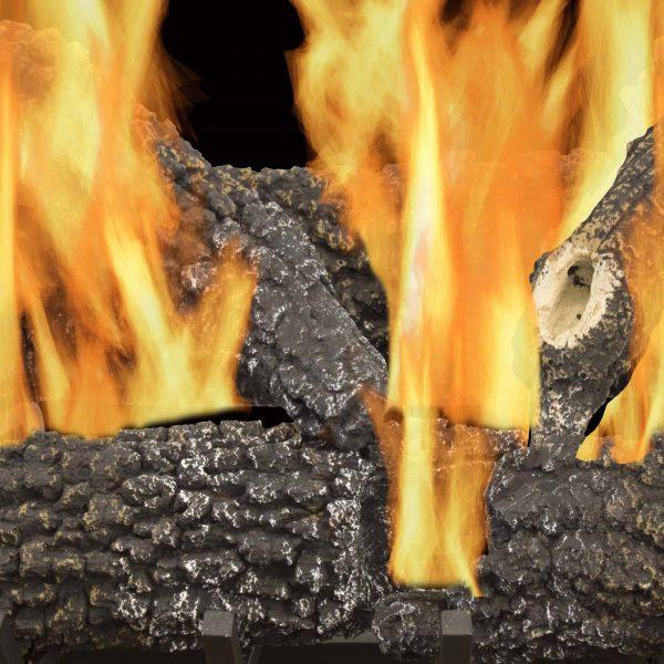 "Pleasant Hearth 30"" Arlington Ash Vented Gas Log Set 65,000 BTU's 1"