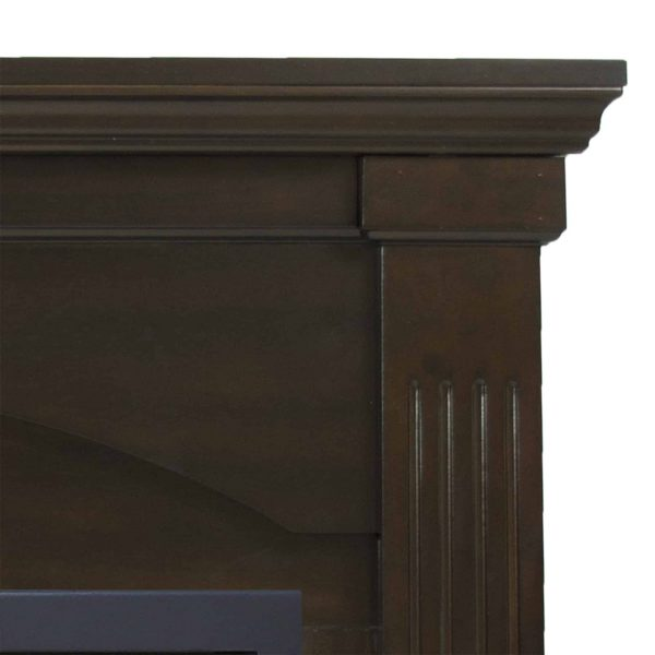 Pleasant Hearth 36 in. Natural Gas Compact Tobacco Vent Free Fireplace System 20,000 BTU 2