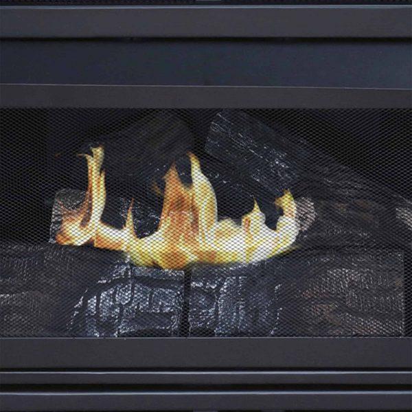 Pleasant Hearth 42 in. Liquid Propane Intermediate Tobacco Vent Free Fireplace System 27,500 BTU 3
