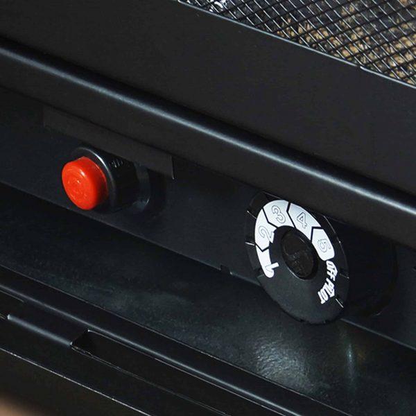 Pleasant Hearth 42 in. Liquid Propane Intermediate Tobacco Vent Free Fireplace System 27,500 BTU 4