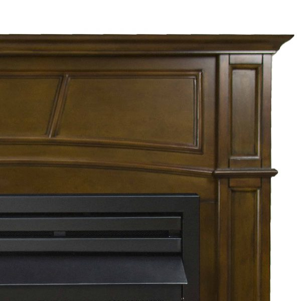 Pleasant Hearth 46 in. Natural Gas Full Size Heritage Vent Free Fireplace System 32,000 BTU 2
