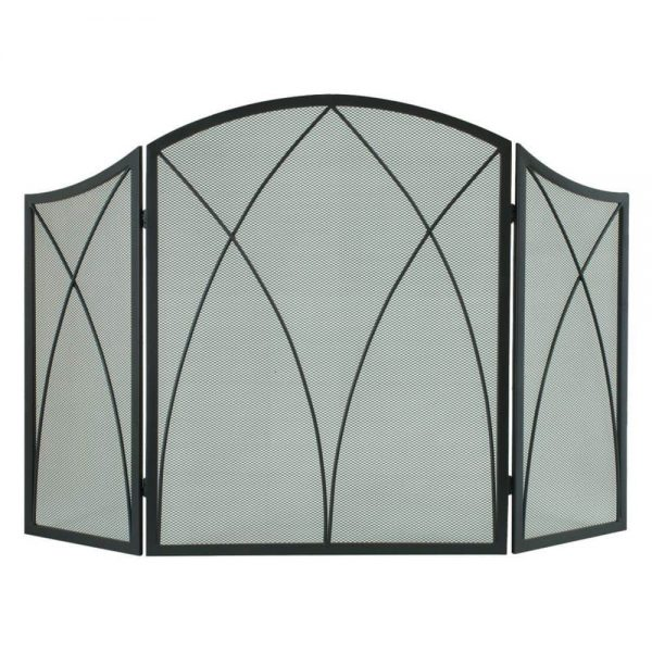 Pleasant Hearth 959 Arched Fireplace Screen -