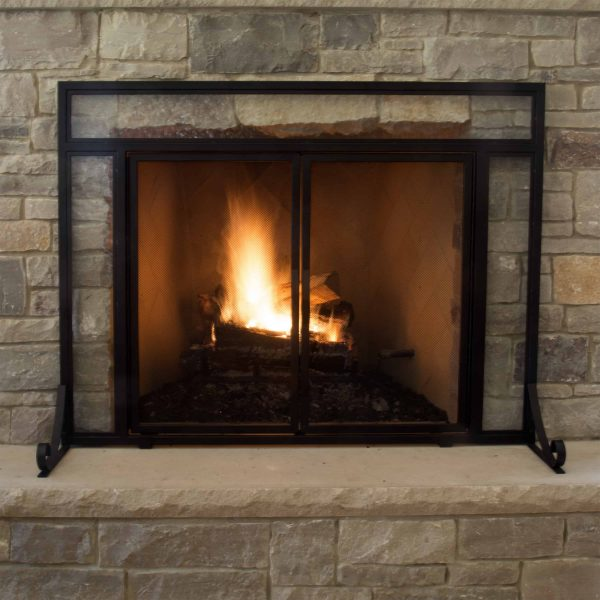 Pleasant Hearth FA183S-L Manchester Fireplace Screen (Large Size) 1